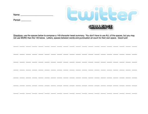 tweet template page template for students this is the sheet