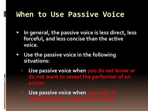 what is the pattern of passive voice active and passive voice