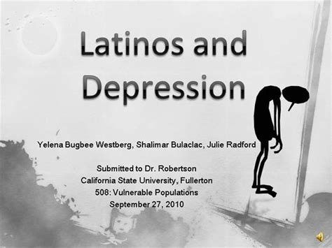 depression powerpoint template depression powerpoint template latinos and depression