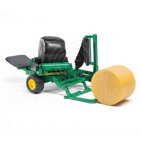 bruder farm toys bruder toys 02122 pro series round bailer wrapper 2