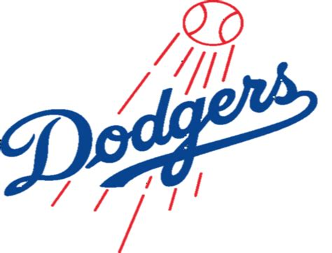 Los Angeles Dodgers Giveaways - la dodgers logo clip art