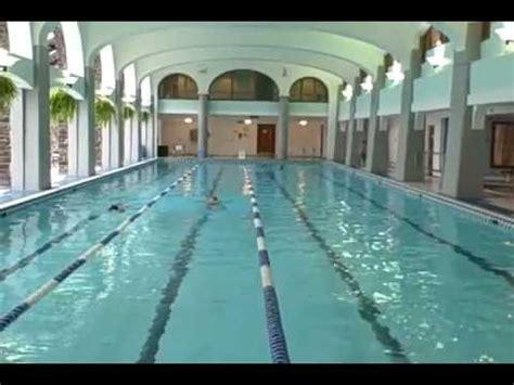 fairmont banff springs aquatic center youtube