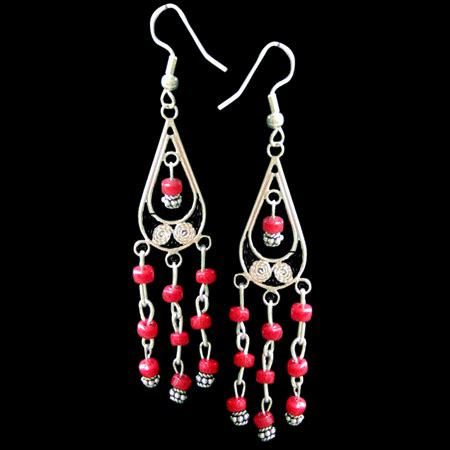 Mexican Chandelier Earrings Mexican Chandelier Earrings