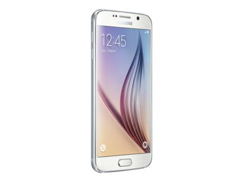 samsung galaxy s6 flat 64gb phone white ebuyer