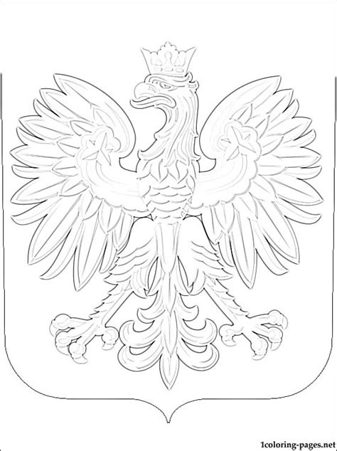 free is poland coloring pages