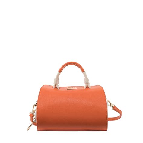 Mini Furla furla venus mini bag in orange lyst