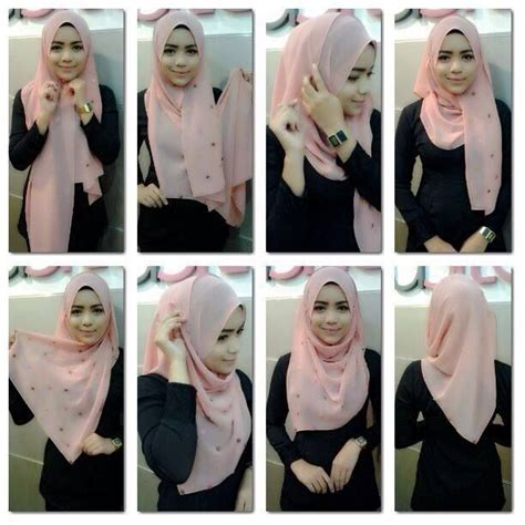 Simple Hijab Style Without Cap