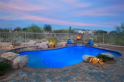 Backyard Pools Tucson Tucson Pool Builders Encantada Pools Inc