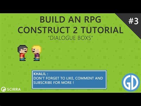 construct 2 zelda rpg tutorial 3 build an rpg dialogue boxs construct 2 tutorial