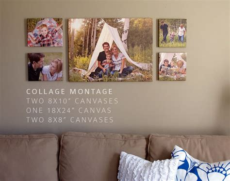 family portrait wall the gallery for gt canvas photo wall ideas