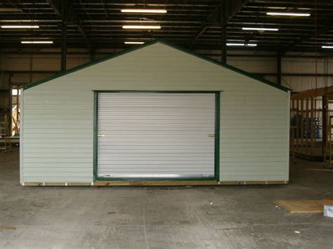 Wide Garage Door by Wide Sheds Florida Storage Sheds Installation