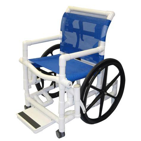 wheelchair shower chair healthline shower wheelchair with sling seat