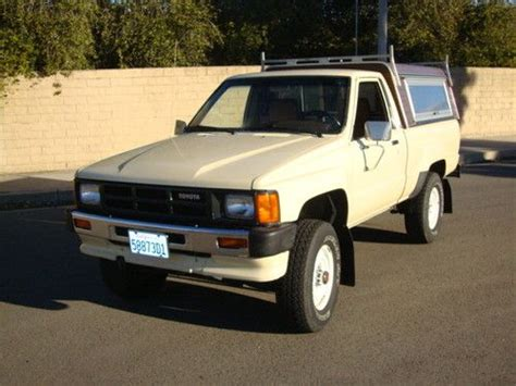 Toyota 22r For Sale Sell Used 1986 Toyota 4x4 22r 96k Original