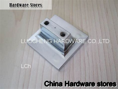 100pcs lot free shipping 40mm square clear knob with