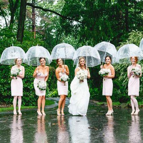 Wedding Umbrellas by Birdcage Clear Wedding Umbrellas