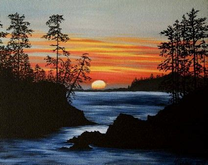 painting workshop scenery easy acrylic painting ideas acrylic painting patterns