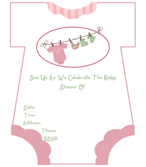 free printable baby shower invitation cards wedding invitation sle