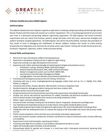software qa manager resume best resume for you in qa manager