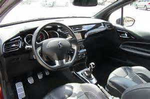 citroen ds3 thp sport interieur