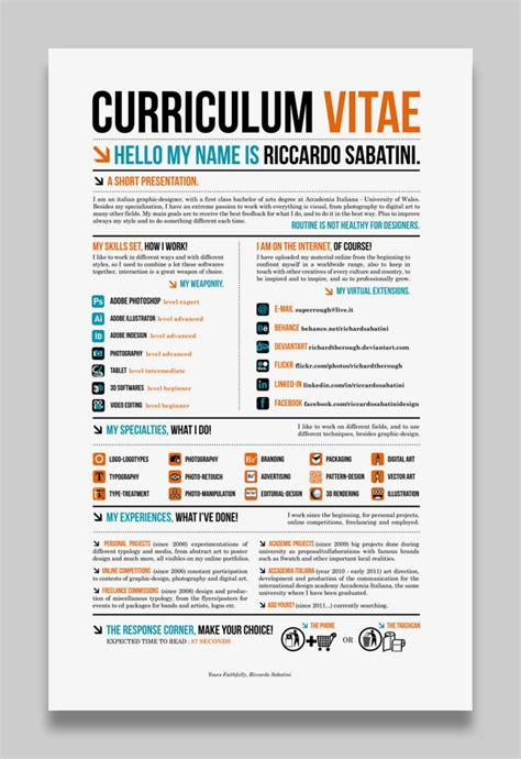 Creative Cv Layout Template | 301 moved permanently
