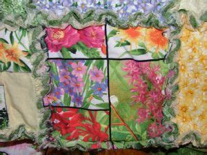 Chenille Quilting Technique by Pictures Of Quilting Projects Made By S Sewing Studio