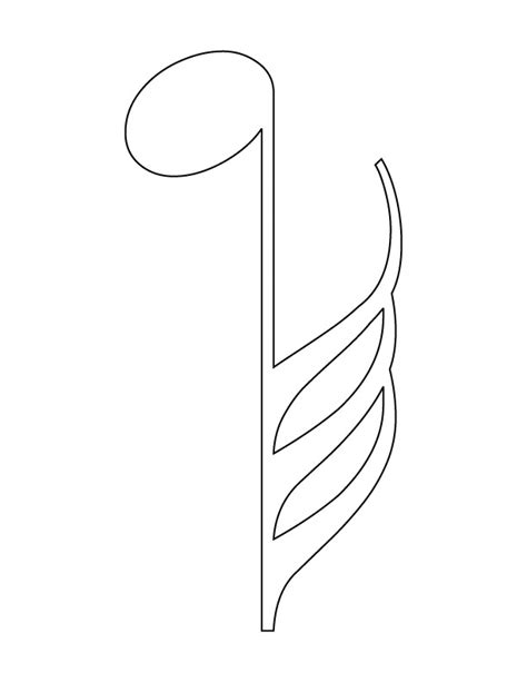 coloring pages with music notes free coloring pages of music notes 19710 bestofcoloring com
