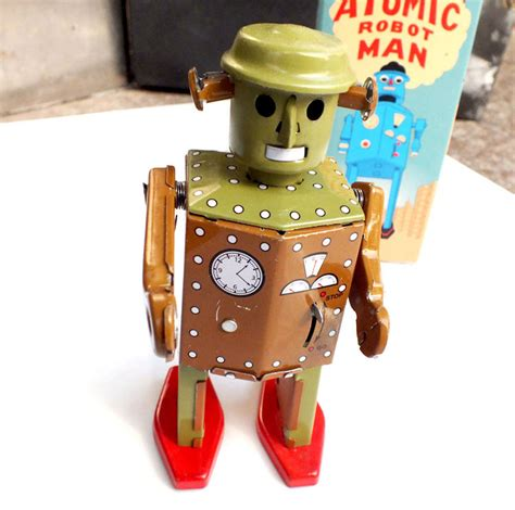 Handmade Toys For Boys - retro robot wind up toys classic tin toys for boys vintage