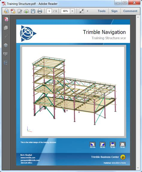 Trimble Bussiness Center trimble adds automated mapping and plotting functionality to its office software suite for