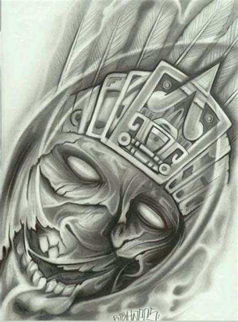 aztec tattoo art the 25 best azteca ideas on aztec
