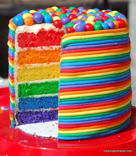 colorful cakes a collection of colorful cakes rainbow cakes