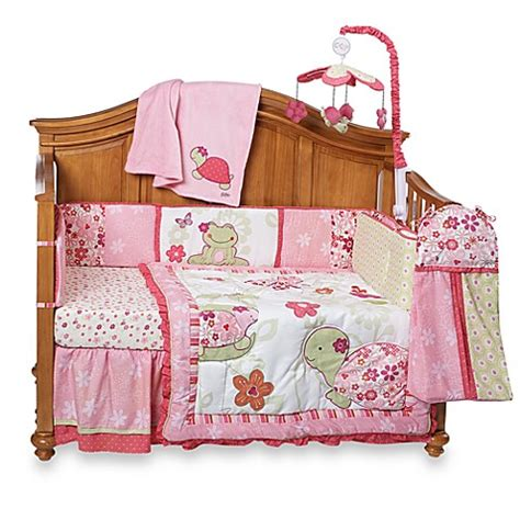cocalo bedding set cocalo once upon a pond 6 piece crib bedding set and