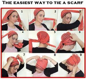 simple hair bandana for covering patch of bald for how to tie my scarf tichelhair snood head