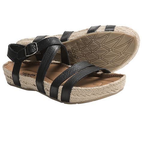 kalso earth sandals kalso earth enlighten sandals leather for save 38
