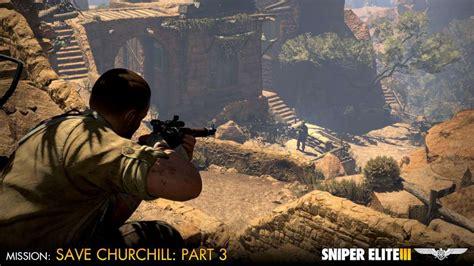 save 80 on sniper elite 3 on steam sniper elite iii save churchill part 3 confrontation