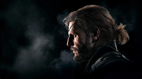 wallpaper metal gear solid   phantom pain big boss