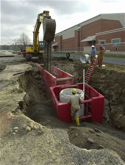 Load Of Pea Gravel Trench To Ease Contamination Fear In Fayette Toledo Blade
