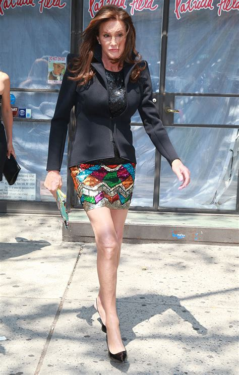 Cait Skirt Orange pics caitlyn jenner s photos of