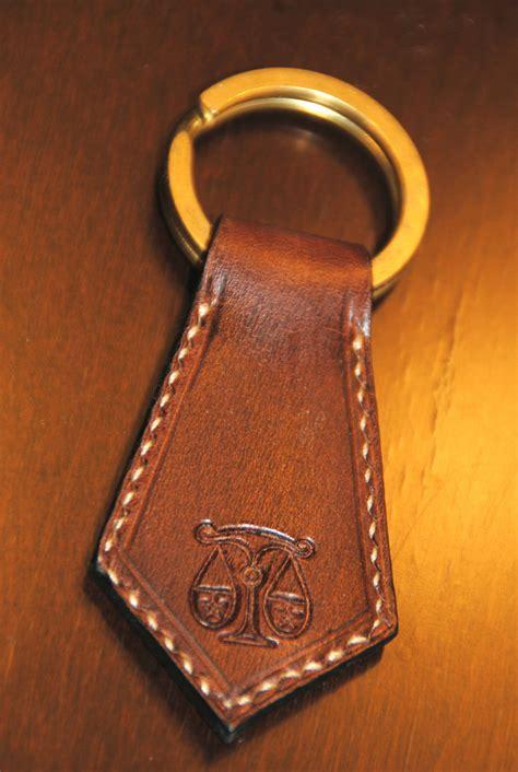 Keychain Handmade - libra zodiac leather keychain handmade in usa keychains
