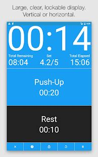 seconds hiit interval timer android apps on google play