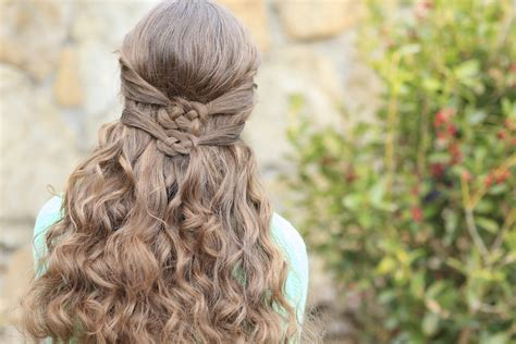 knots hairstyle knots cute girls hairstyles