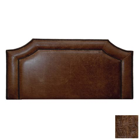 leather padded headboard shop fireside lodge furniture cosmo california king