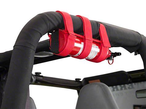rugged ridge extinguisher holder rugged ridge wrangler sport bar extinguisher holder 13305 20 free shipping