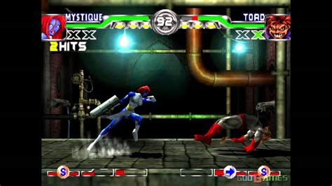 Playstation X Ps One Ps1 Ps 1 mutant academy 2 gameplay psx ps1 ps one hd 720p epsxe