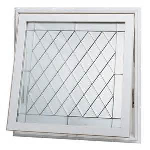 window home depot tafco windows 32 in x 32 in awning vinyl window white