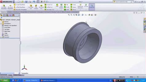 solidworks tutorial revolved boss how to create simple car wheel in solidworks revolved