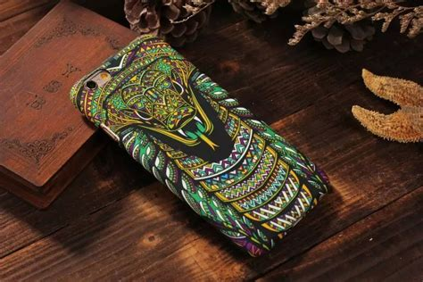 Luxo Glowing Hardcase Owl Series For Iphone 6 6s buy aztec jungle animal king tiger wolf owl doodle glow cover cases