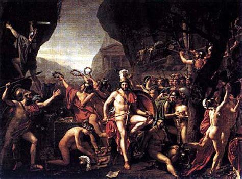 spartani contro persiani leonida alle termopili