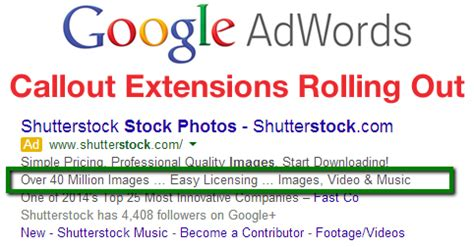 adwords callout extensions rolling out to all accounts