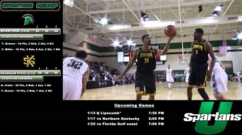 Usc Upstate Mba by Upstate S Basketball Vs Ksu 01 10 2015
