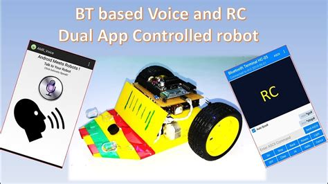 Mobil Remote R C Randa Max how to make a dual app voice and mobile remote controlled ugv robot